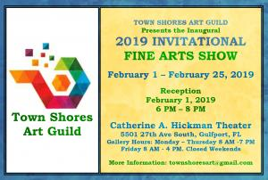 TOWN SHORES ART GUILD At The Catherine A. Hickman Theater